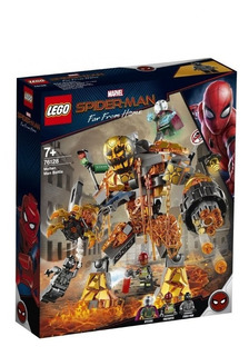 Lego Spiderman Far From Home 294pzs Moltem Man Y Misterio