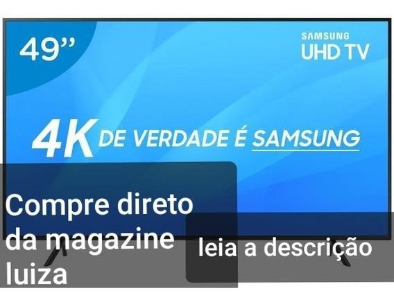 Smart Tv 4k Led 49 Sansung/ Não Compre Sem Ler A Descrição