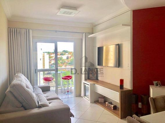 Apartamento Com 3 Dormitórios À Venda, 80 M² Por R$ 520.000,00 - Mansões Santo Antônio - Campinas/sp - Ap18622