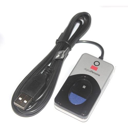 Imagem 1 de 9 de Leitor Biométrico Digital Persona U Are U 4500 Original!