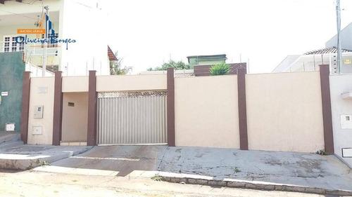 Casa Com 3 Dormitórios À Venda, 148 M² Por R$ 370.000,00 - São Carlos - Anápolis/go - Ca1550