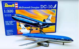 Mcdonnell Douglas Dc-10 Klm Escala 1/1320 Revell 04211