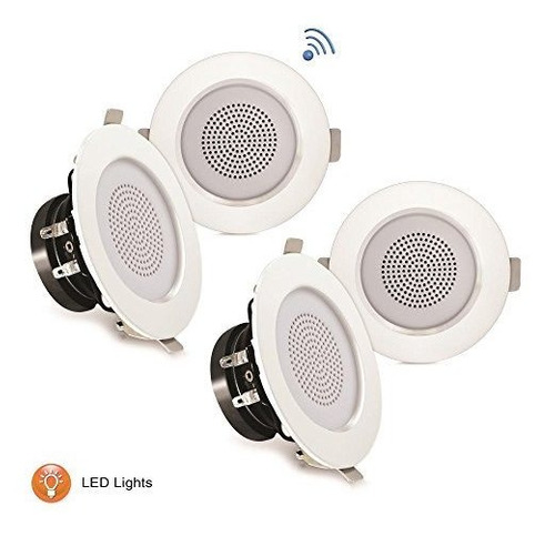 Pyle 3 Bluetooth Flush Mount Inwall Inceiling 2way Home Sist