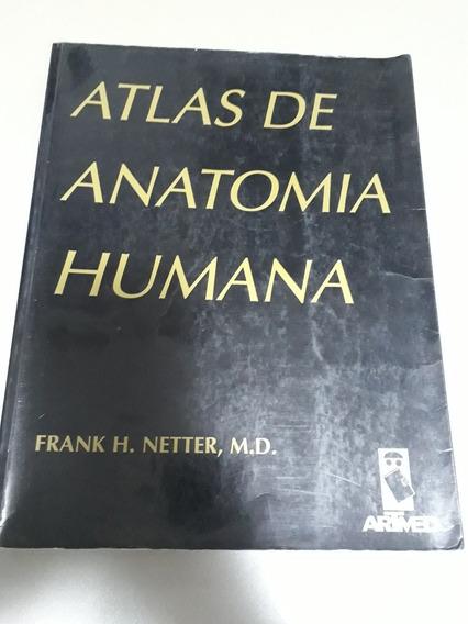 Atlas De Anatomia Humana Frank H. Netter Ótimo Estado