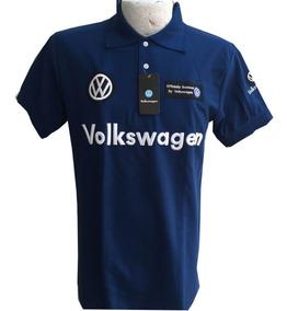 Playera Tipo Polo Volkswagen Azul Rey Envío Gratis