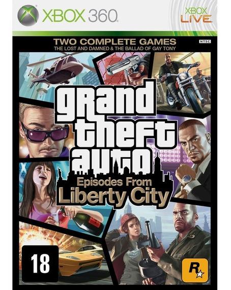 Grand Theft Auto Episodes From Liberty City - Xbox 360 Novo