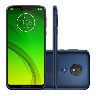 Smartphone Motorola Moto G7 Power Xt1955 32gb Azul Vitrine