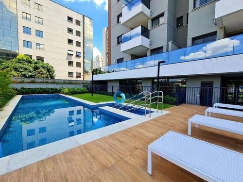 Imagem 1 de 24 de Apartamento Garden Com 1 Dormitório À Venda, 59 M² Por R$ 651.000,00 - Pinheiros - São Paulo/sp - Gd0013