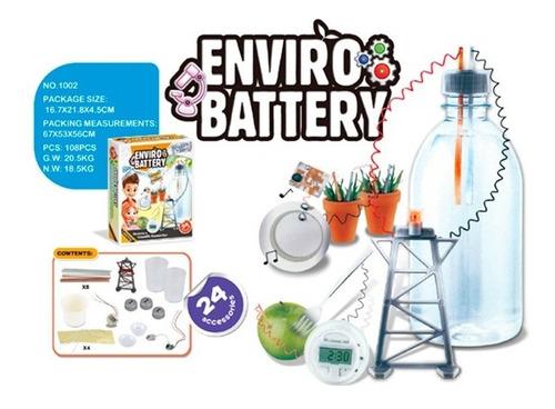 Imagen 1 de 1 de Kit De Experimentos Ambiental Enviro 1716392 E.normal