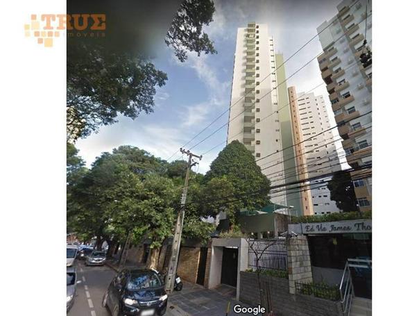 Apartamento Com 4 Dormitórios À Venda, 143 M² Por R$ 700.000 - Espinheiro - Recife/pe - Carlos (81) 98666-6050 - Ap3396