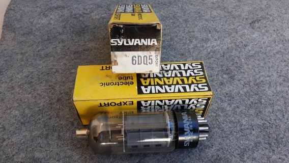 Válvula Eletrônica 6dq5 - Sylvania