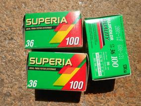Filme Fujifilm Superia 100mm.