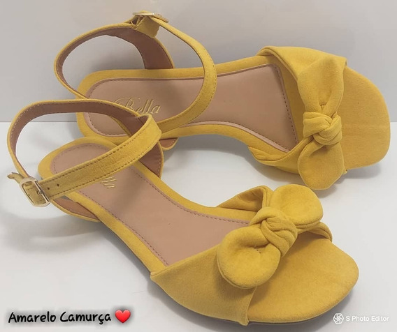 Sandalia Rasteira Sapato Feminina