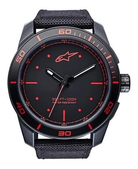Relógio Alpinestars Tech Preto / Vermelho