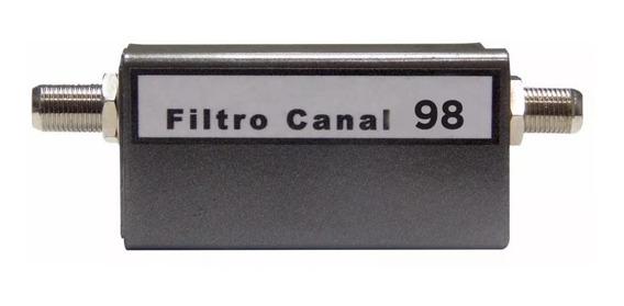 Filtro De Canal 98 Utilizar Con Modulador Tv-rf, Cámara Cctv