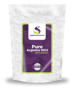 Arginina Pura 100% 1kg L-arginina Melhor Vasodilatador N/f