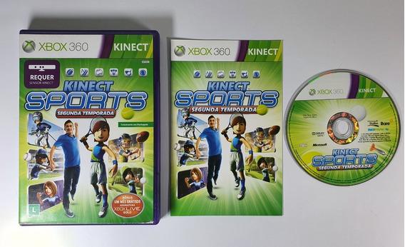 Kinect Sports 2° Temporada Xbox 360 Original Mídia Física