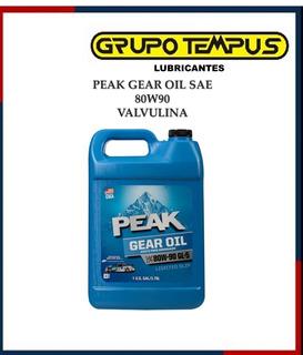 Valvulina Peak Sae 80w90 Gl 4