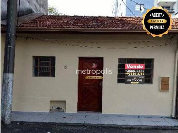 Casa À Venda, 60 M² Por R$ 290.000,00 - Santa Paula - São Caetano Do Sul/sp - Ca0240