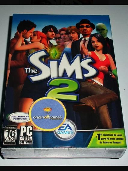 The Sims 2 Original Na Caixa.. 4 Cds.manual.perfeito Estado