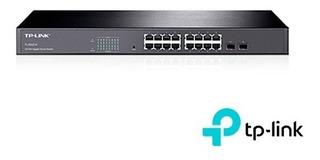 Switch 16giga Adml2 Tp-link Tl-sg2216 2 Combo Sfp Rack