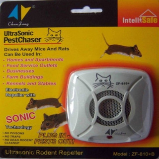 Repelente Ultrasonico De Roedores Ratas Ratones 154m