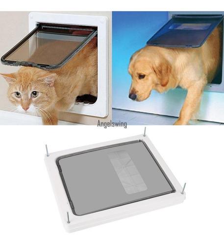 Imagen 1 de 5 de Blanco Segura Puerta De Perro/gato/mascota Puerta Extra Comp
