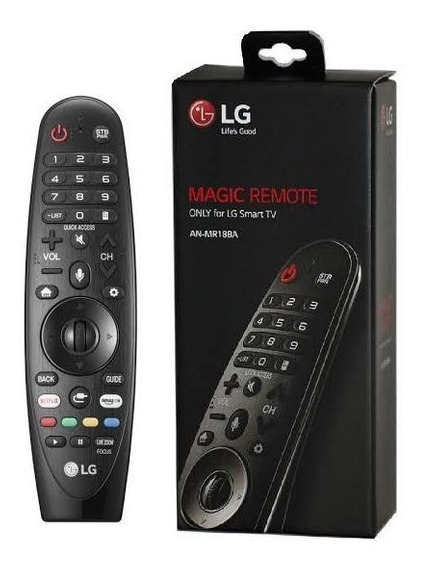 Controle Magic Smart Tv Lg An-mr18ba