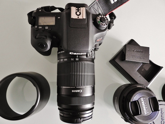 Black Friday: Máquina Fotográfica Canon Rebel T6s
