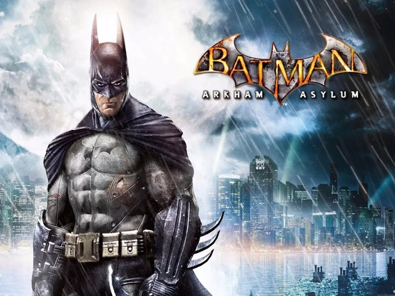 Jogo Batman Arkham Asylum Pc Steam Key Original Oferta