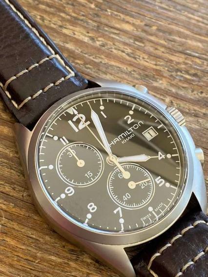 Relogio Hamilton Cronografo Quartz