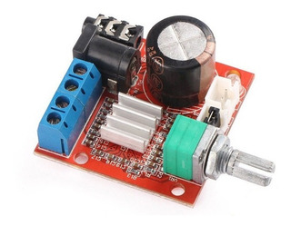 Amplificador Pam8610 10w X 2 Con Potenciometro