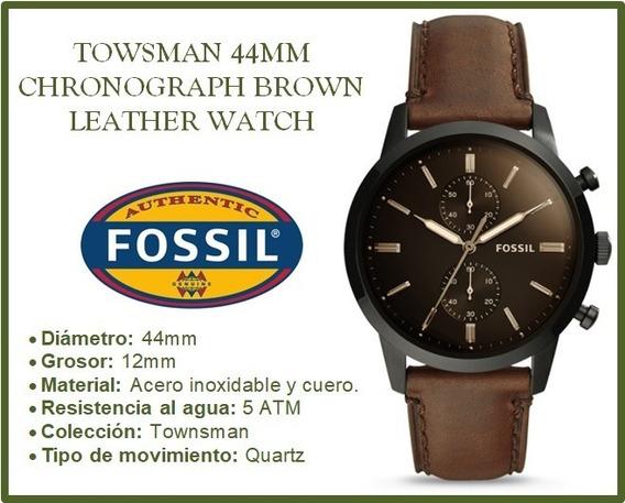 Reloj Fossil Townsman Chronograph Brown
