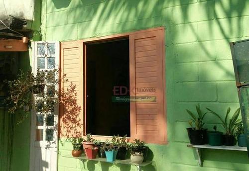 Imagem 1 de 5 de Chácara Com 2 Dormitórios À Venda, 3400 M² Por R$ 420.000 - Chácaras Monte Carlo - Suzano/sp - Ch0600