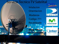 Servicio Tecnico Tv Satelital Movistar Inter Directv Prepago