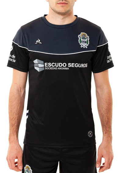 Camiseta Arquero Gimnasia De La Plata Negro Le Coq Sportif