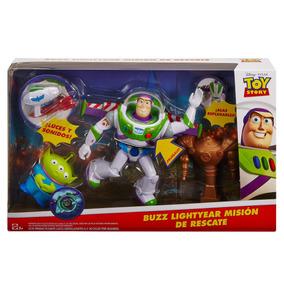 Novo Boneco Buzz Lightyear Aventura No Espaço Mattel Fhb78