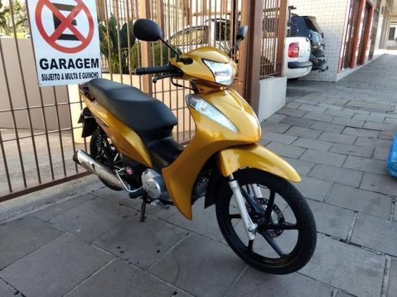 Honda Biz 125 Ex Amarela 2011
