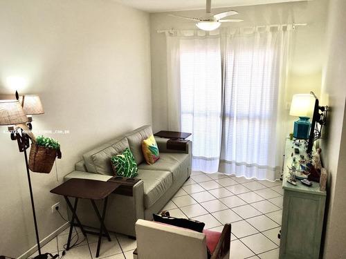 Apartamento Para Venda Em Guarujá, Enseada, 2 Dormitórios, 1 Suíte, 3 Banheiros, 1 Vaga - 1-130720_2-1062239