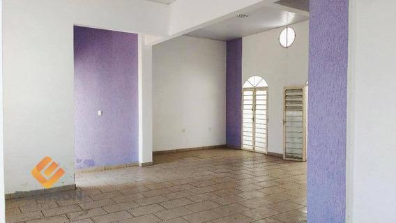 Salão Comercial Para Locação, Centro, Rio Claro. - Sl0042