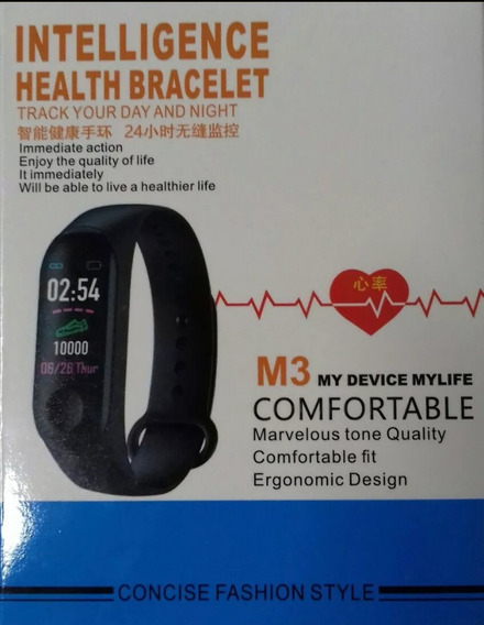 Bracelete Inteligente Monitore Sua Saúde