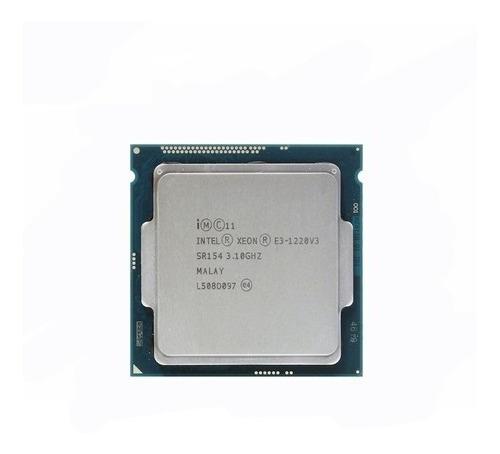 Processador Intel Xeon E3-1220 V3 Cm8064601467204 4 Núcleos