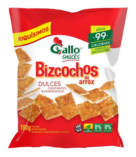 Bizcochos Gallo Dulce 100g