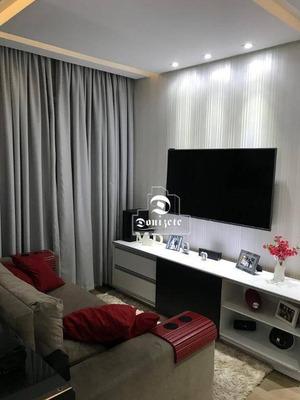 Apartamento Com 2 Dormitórios À Venda, 59 M² Por R$ 375.000 - Vila Pires - Santo André/sp - Ap11560