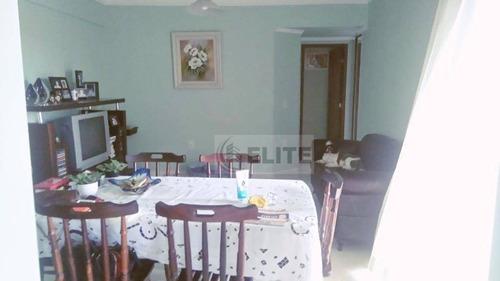 Apartamento Com 3 Dormitórios À Venda, 87 M² - Vila Valparaíso - Santo André/sp - Ap1418