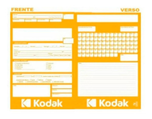 Imagem 1 de 1 de Envelope P/fotoacabamento Numerado Pacote C/1000 Unidade.
