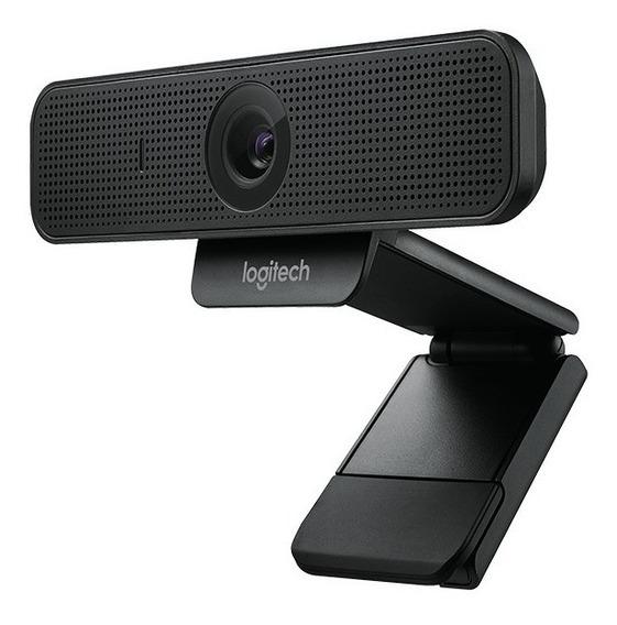 Web Cam Logitech C925e Full Hd 1080p Vídeo De Alta Definição Nova Com Nfe - Garantia Direto Com A Logitech