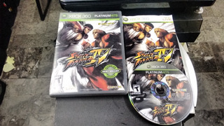 Street Fighter Iv Sin Instruc Para Xbox 360,excelente Titulo