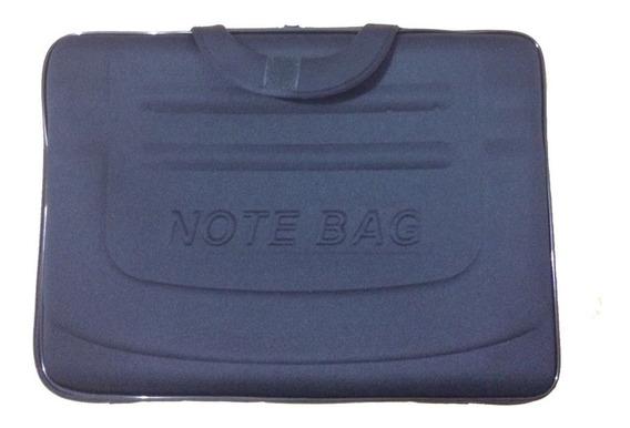Capa Case Maleta Para Notebook 15,6 Polegadas Preto
