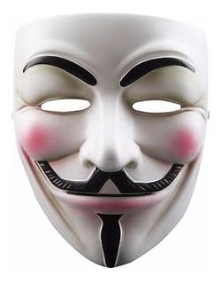 Máscara V For Vendetta Polipropileno Guy Fawkes Anonymous